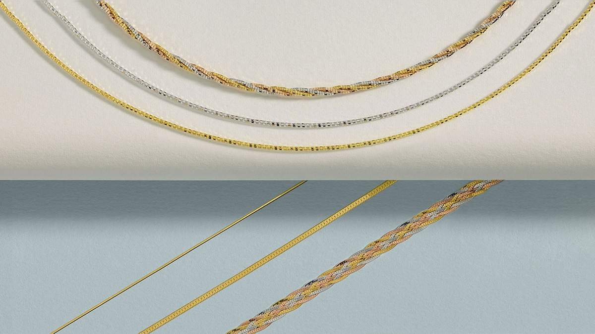 Braided, herringbon, spring cable, snake: available in SOLID